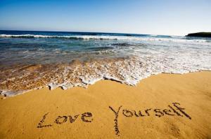 love yourself beach